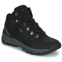 Shoes Men Walking shoes Merrell ERIE MID LTR WP Black