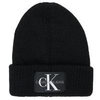 Clothes accessories Men Hats / Beanies / Bobble hats Calvin Klein Jeans MONOGRAM BEANIE WL Black