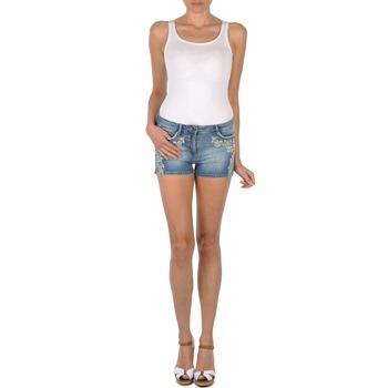 Clothing Women Shorts / Bermudas Brigitte Bardot JUE Blue