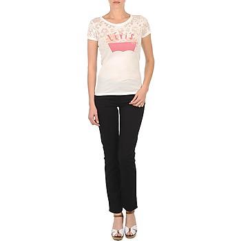 Clothing Women slim jeans Levi's CL DC SLIM 5 PKT Black