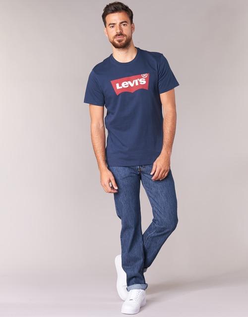 Clothing Men straight jeans Levi's 501® Levi's®ORIGINAL FIT Stonewash / 80684