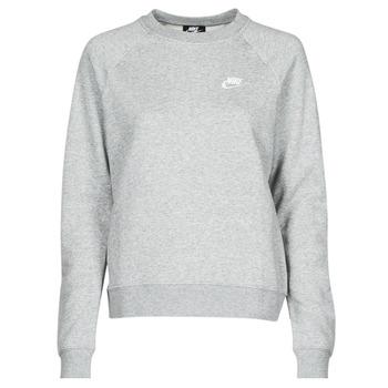 Clothing Women Sweaters Nike NIKE SPORTSWEAR ESSENTIAL Grey / White