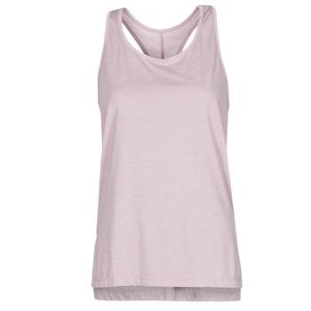 Clothing Women Tops / Sleeveless T-shirts Nike NIKE YOGA Purple