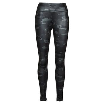 Clothing Women Leggings Nike W NK ONE DF CAMO MR TGT Grey / White