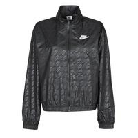 Clothing Women Macs Nike W NSW WVN GX JKT FTRA Black / White