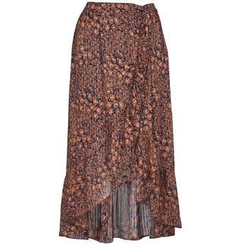 Clothing Women Skirts Betty London PAOLA Marine / Ocre tan