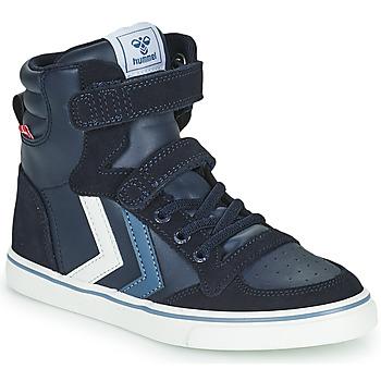 Shoes Children Hi top trainers Hummel SLIMMER STADIL JR Blue