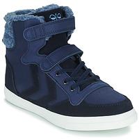 Shoes Children Hi top trainers Hummel STADIL WINTER HIGH JR Blue