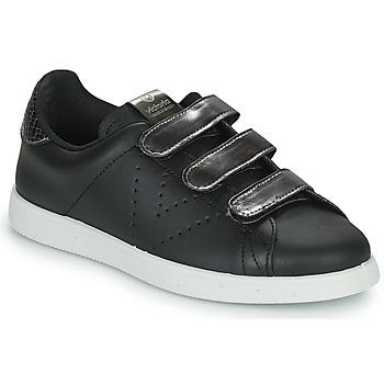 Shoes Women Low top trainers Victoria HUELLAS  TIRAS Black