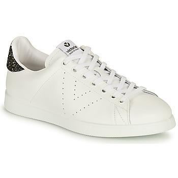 Shoes Women Low top trainers Victoria TENIS PIEL White / Silver