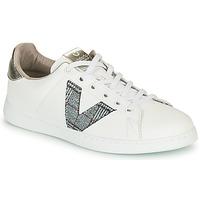 Shoes Women Low top trainers Victoria TENIS PIEL VEGANA White / Grey