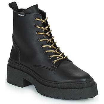 Shoes Women Mid boots Victoria CIELO PIEL VEGANA Black