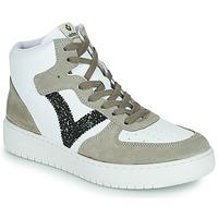 Shoes Women Low top trainers Victoria SIEMPRE BOTIN SERRAJE White / Kaki