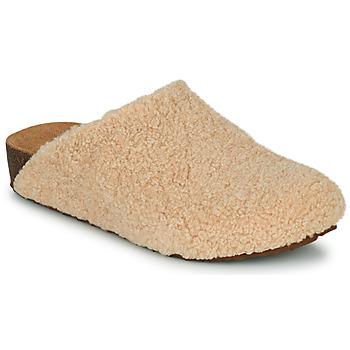 Shoes Women Slippers Steve Madden VESA Beige