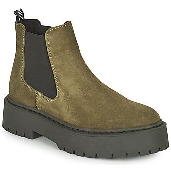 Shoes Women Mid boots Steve Madden VEERLY Kaki