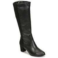 Shoes Women High boots Spot on F50366-BLACK Black