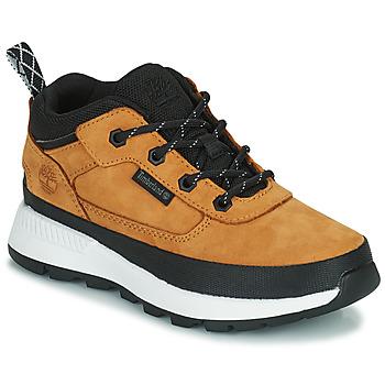 Shoes Children Hi top trainers Timberland FIELD TREKKER LOW Wheat