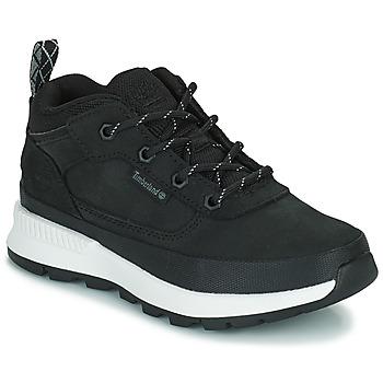 Shoes Children Hi top trainers Timberland FIELD TREKKER LOW Black