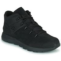 Shoes Children Hi top trainers Timberland SPRINT TREKKER MID Black