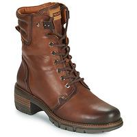 Shoes Women Ankle boots Pikolinos SAN SEBASTIA Brown