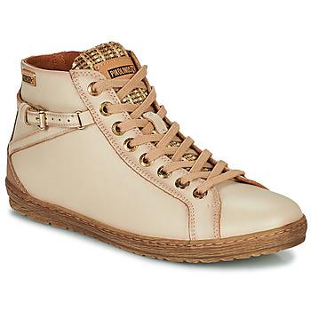 Shoes Women Hi top trainers Pikolinos LAGOS Beige