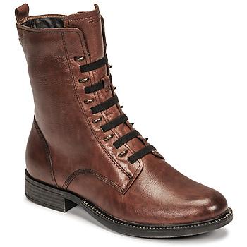 Shoes Women Mid boots Tamaris MISTAK Brown