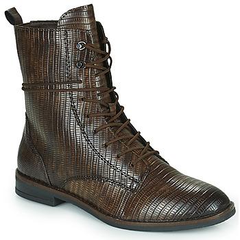 Shoes Women Mid boots Tamaris PEPIN Brown