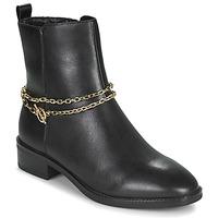 Shoes Women Mid boots Tamaris THOMA Black / Gold