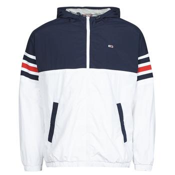 Clothing Men Jackets Tommy Jeans TJM COLORBLOCK ZIPTHRU Blue / White / Red