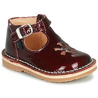 Shoes Girl Sandals Aster BIMBO Bordeaux