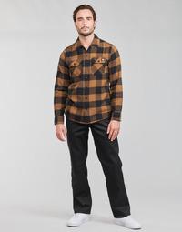 Clothing Men 5-pocket trousers Dickies ORIGINAL FIT STRAIGHT LEG WORK PNT Black