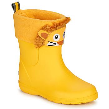 Shoes Children Wellington boots Isotoner 99314 Yellow