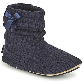 Shoes Women Slippers Isotoner 97720 Marine