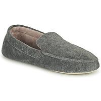Shoes Men Slippers Isotoner 96774 Grey / Mottled
