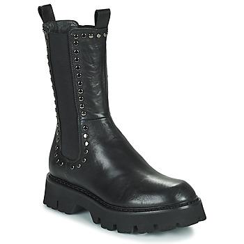 Shoes Women Mid boots Fru.it ALOISA Black