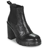 Shoes Women Ankle boots Fru.it CAMILLA Black