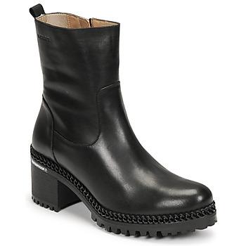 Shoes Women Ankle boots Wonders H-3932 Black