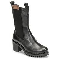 Shoes Women Ankle boots Wonders H-3930 Black