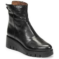 Shoes Women Mid boots Wonders E-6232 Black