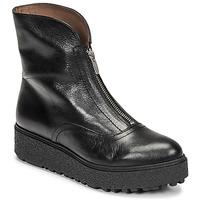 Shoes Women Mid boots Wonders A-9520 Black