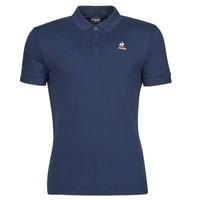 Clothing Men Short-sleeved polo shirts Le Coq Sportif ESS POLO SS N 1 M Marine
