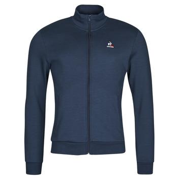 Clothing Men Track tops Le Coq Sportif ESS FZ SWEAT N 3 M Marine
