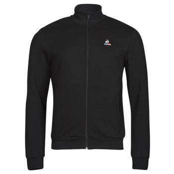 Clothing Men Track tops Le Coq Sportif ESS FZ SWEAT N 3 M Black