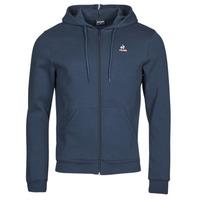 Clothing Men Track tops Le Coq Sportif ESS FZ HOODY N 3 M Marine
