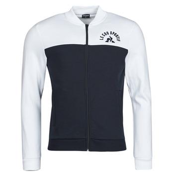 Clothing Men Track tops Le Coq Sportif SAISON 2 FZ SWEAT N 1 Marine / White