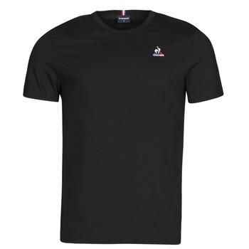 Clothing Men Short-sleeved t-shirts Le Coq Sportif ESS TEE SS N 3 M Black