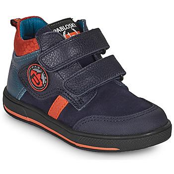 Shoes Boy Mid boots Pablosky 503523 Blue