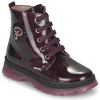 Shoes Girl Mid boots Pablosky 404099 Bordeaux