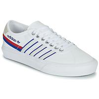 Shoes Low top trainers adidas Originals DELPALA White / Blue