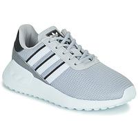 Shoes Boy Low top trainers adidas Originals LA TRAINER LITE C Grey